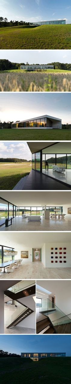 Bridge House by 123DV.  A house-bridge in the Netherlands.