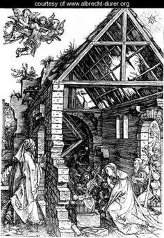 Nativity 3 - Albrecht Durer - www.albrecht-durer.org