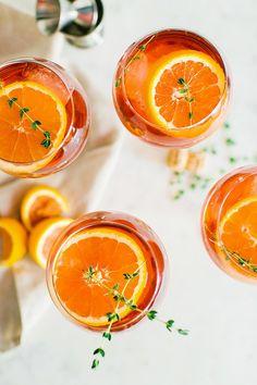 Drink it like juice. Aperol spritz cocktail recipe | Waiting on Martha