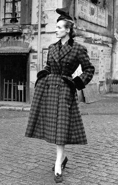Dior coat being 1950.