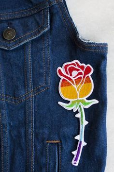 Equality Rose Iron-On Patch