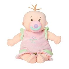 Manhattan Toy Baby Stella Peach Soft Nurturing First Baby... https://www.amazon.com/dp/B001R6W4KA/ref=cm_sw_r_pi_dp_x_s4N.zb5G9TJ1X