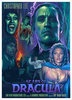 Gothic Horror, Horror Art, Horror Movies, Vampire Dracula, Hammer Films, Vampires And Werewolves, Horror House, Classic Monsters, Vintage Horror