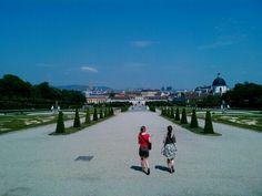 비엔나 벨베데레궁전