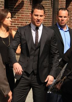 Channing Tatum and Johnny Depp - Drop by the Ed Sullivan Theater