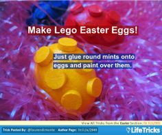 Easter - Make Lego Easter Eggs!