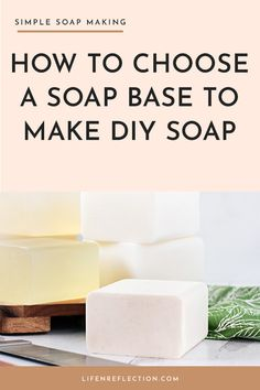 Melt it, scent it, color it, swirl it, layer it, and pour into countless shapes and sizes. Here's how to choose a melt and pour soap base for making soap at home. Coconut Soap, Shea Butter Soap, Coffee Soap, Soap Colorants, Olive Oil Soap, Soap Base, Goat Milk Soap, Soap Recipes, Natural Cleaning Products