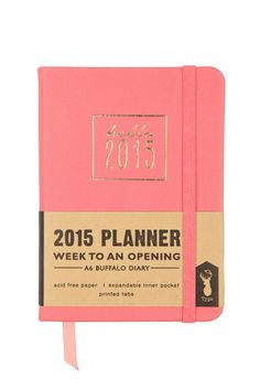 2015 Small Weekly Planner.