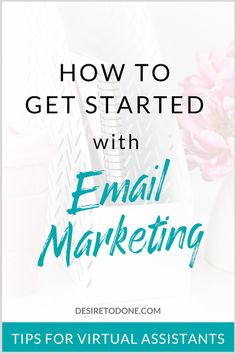 Want to try email marketing for your virtual assistant business? I cover common questions that VAs have. Email Marketing Strategy, Online Marketing, Business Marketing, Business Tips, Online Business, Digital Marketing, Mobile Marketing, Facebook Marketing, Inbound Marketing