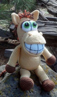 Amigurumi horse - crochet pattern by Lovely Baby Gift