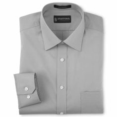 Stafford® Easy-Care Poplin Dress Shirt - JCPenney
