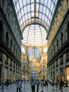 Galleria Toledo, Naples Italy. Naples is gritty and hardworking, but underrated. It's one of the oldest cities in the world!