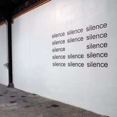 »silence« by eugen gomringer (+)[via]