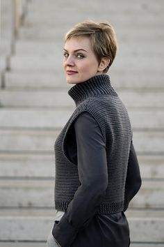 """You love crocheting but are not sure how crocheted clothing would fit into your wardrobe. You are used to thinking that crochet is for making afghans and you would not wear anything that resembles one. You like the idea of crocheting a garment but are afraid it will turn out """"homemade"""" rather than """"handmade""""."""