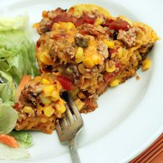 Anne's Easy Taco Casserole | Ground Turkey Recipes - 10 Quick Fixes | Quick & Easy Recipes | Food | Disney Family.com