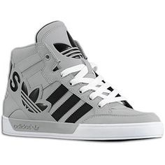 Adidas HardCourt Hi-tops.  Officially...mine! :)