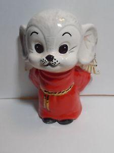 Vintage Angel Mouse Figurine, Christmas
