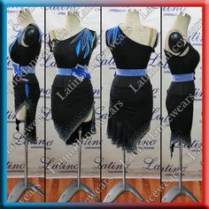LATIN SALSA COMPETITION DRESS LDW (LT1022) LATIN-SALSA-COMPETITION-DRESS-LDW-LT1022 Latino Dancewears