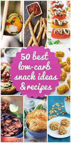 best low-carb snack recipes