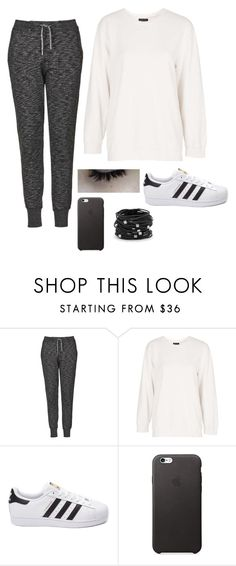 """""""Untitled #2776"""" by if-i-were-famous1 ❤ liked on Polyvore featuring Topshop, adidas, Chico's, women's clothing, women, female, woman, misses and juniors"""