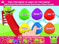 Learn all the colors of the rainbow! Kids Educational Resources https://itunes.apple.com/us/app/preschool-edukitty-free-amazing/id655192558?mt=8
