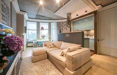 Casinha colorida: Muitos estilos em um apartamento totalmente feminino
