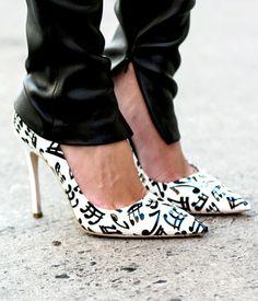 Street style: les chaussures de rêve de l'élite fashion - Louloumagazine.com