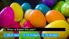 A video with a short quiz about Easter in Hungary using Photopeach