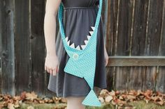 #diy Shark purse DIY