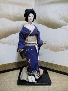 Japanese Vintage DollISHO-NINGYO GEISHA has by vintagezipangu