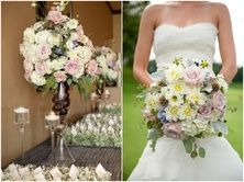 I love the style of the bouquet