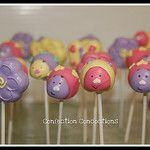 Spring Bugs and Flowers Cake Pops by Confection Concoctions