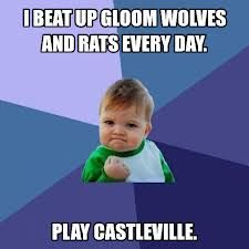 Please repin if you play Castleville everyday. Thanks.
