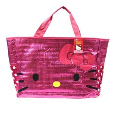 Summer Time: Pink #hellokitty Beach Bag