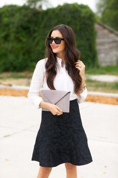 Fashion Inspiration | Black & White - DustJacket