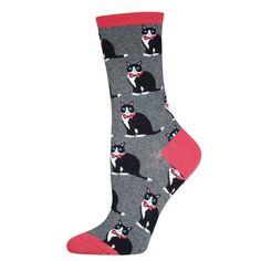 Tuxedo Cat Socks from Cute Dose