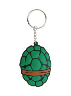 Teenage Mutant Ninja Turtles Shell Key Chain