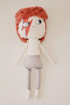 ♥♥♥♥♥ David Bowie, custom doll, muñeco personalizado, muñeco de david bowie, muñeco tributo, muñecos de famosos