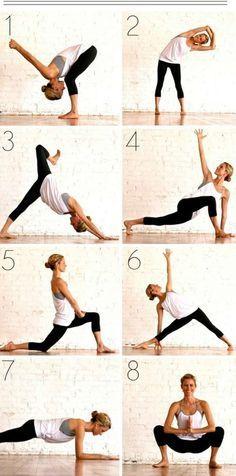 Rutina de yoga mañanera para adelgazar y estilizar tu cuerpo | Adelgazar – Bajar de Peso