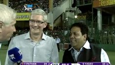 Tim Cook and Lisa Jackson's India Trips Continue With Cricket Games, Bollywood Stars and 'Solar Mamas' Cricket Games, Bollywood Stars, Steve Jobs, India Travel, Trips, Solar, Jackson, Lisa, Cooking