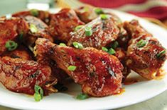 Spicy Sesame Buffalo Chicken Wings recipe from Kraft Foods Kraft Foods, Kraft Recipes, Sesame Chicken, Baked Chicken, Bbq Chicken, Ranch Chicken, Butter Chicken, Grilled Chicken, Hardboiled
