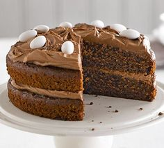Lighter Chocolate cake with chocolate icing