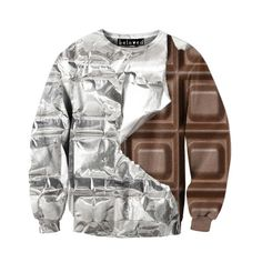 Beloved Shirts Silver Foil Chocolate Unisex Sweatshirt