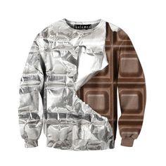 Beloved Shirts Silver Foil Chocolate Unisex Sweatshirt