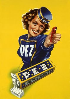 Saga des bonbons PEZ