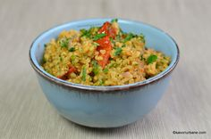Couscous, Fried Rice, Guacamole, Love Food, Risotto, Side Dishes, Veggies, Gluten Free, Vegetarian