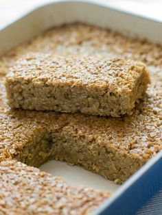 Maple-Brown Sugar Oatmeal Breakfast Bars