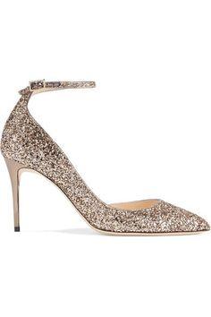 83b001c55f6  jimmychoo  shoes  pumps Gold Pumps