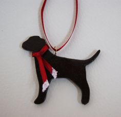 Gorgeous airdry clay chocolate labrador by albertinebelle on Etsy, £1.20