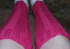 Keep Warm This Winter with Ribbed Legwarmers: Size medium Ribbed Legwarmers on a leg that measures about 8 inches at the ankle.